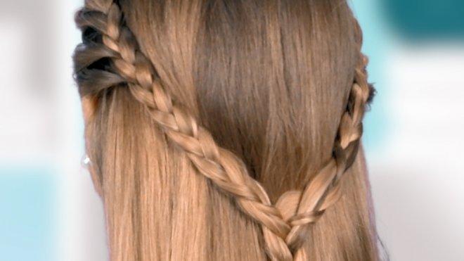 Cómo Hacer Una Trenza De Corazón Peinados Para Niñas