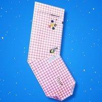 Cómo hacer un calcetín de Navidad de origami