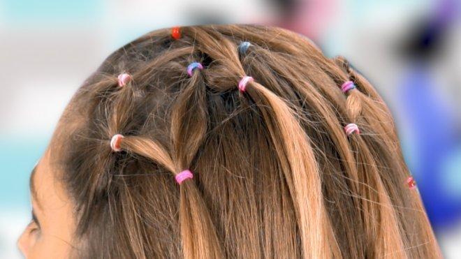 Como Hacer Unas Coletas Entrelazadas Peinados Infantiles
