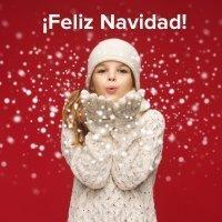 Vídeo original para felicitar en Navidad