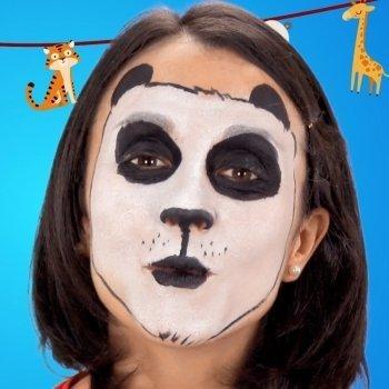 Cómo hacer un maquillaje de oso panda