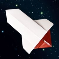 Cómo hacer un cohete de origami con papel