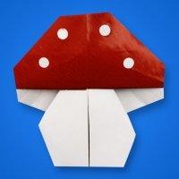 Cómo hacer una seta de origami de forma fácil