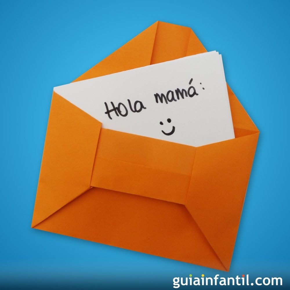 Sobre Para Cartas De Origami Manualidades Para Ninos