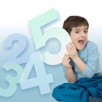 Truco de la tabla de multiplicar del número cinco. Matemáticas para niños