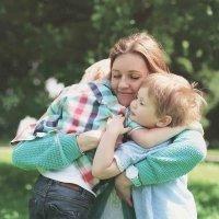 Beneficios de los abrazos para los niños