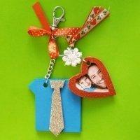 Cómo hacer un llavero casero para regalar por el Día del Padre