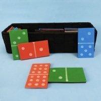 Cómo hacer un dominó casero para niños