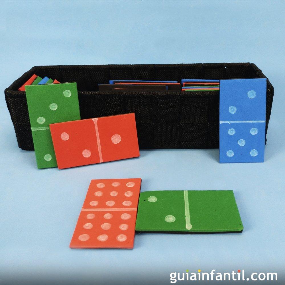 Como Hacer Un Domino Casero Para Ninos