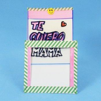 Tarjeta mágica que cambia de color para el Día de la Madre
