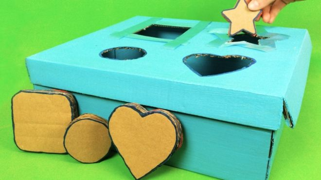 3c3514e2d Cómo hacer un juego de piezas encajables para bebés y niños
