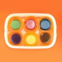 Cómo hacer pintura casera para colorear con los niños