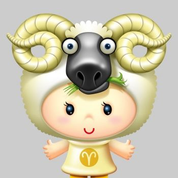 Características de los niños Aries. Signos del zodiaco