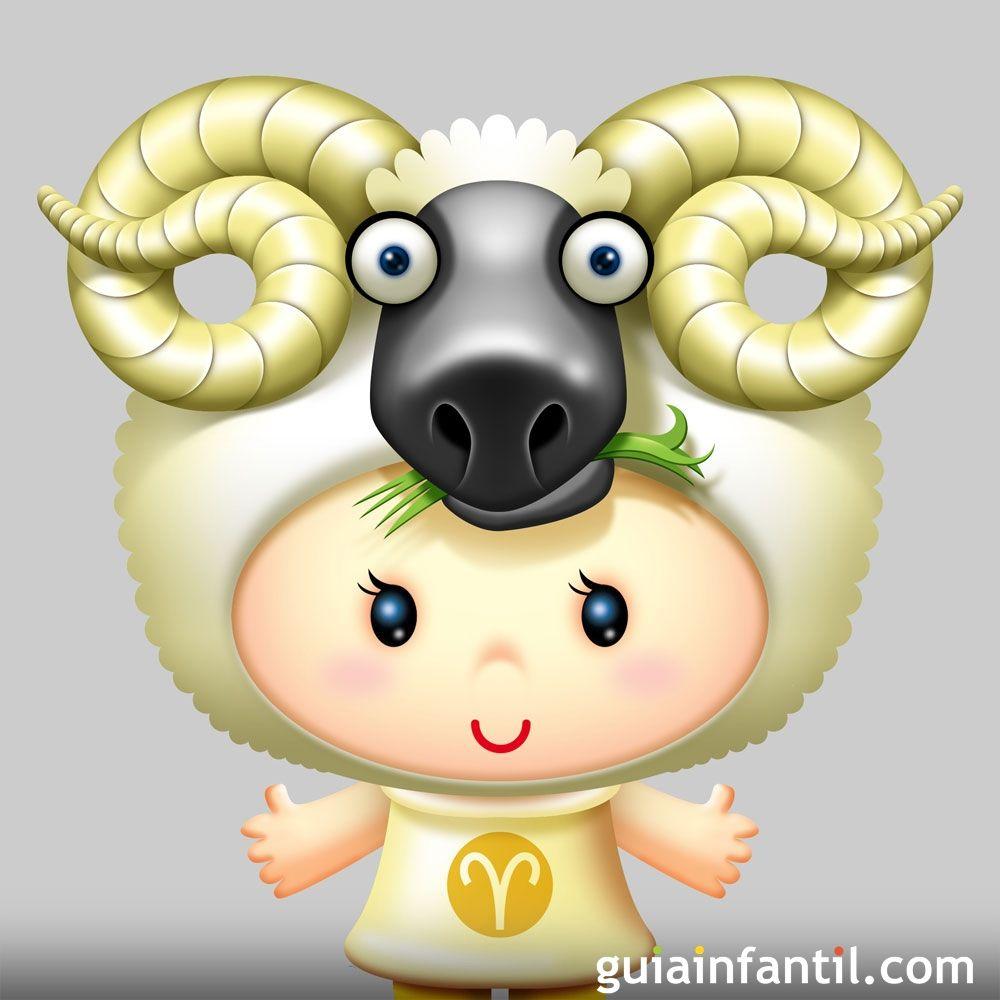 Caracter sticas de los ni os aries signos del zodiaco - Bebes dibujos infantiles ...