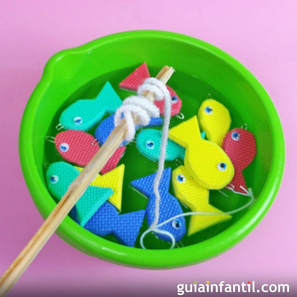 C mo hacer un juego infantil para pescar peces for Como hacer un criadero de peces casero