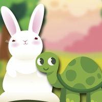 Vídeo de la fábula La liebre y la tortuga
