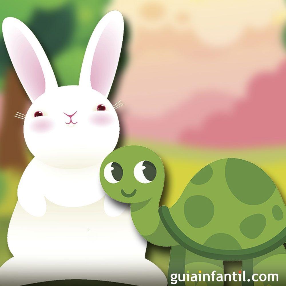 La liebre y la tortuga. Fábula para niños narrada
