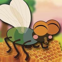 Fábula de La mosca y la miel para niños. Cuentos infantiles con moraleja