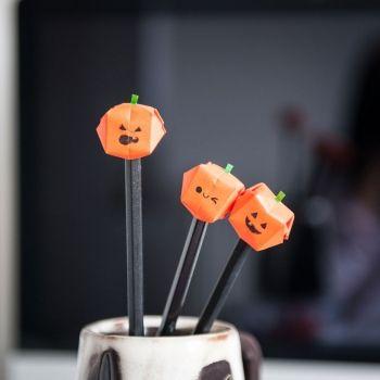 5 figuras de origami para celebrar Halloween con los niños