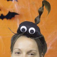 Peinado de escorpión para Halloween. Peinados para niñas