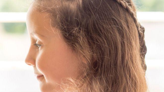 Trenzas Con Lazo Peinados Sencillos Para Ninas