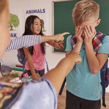 El acoso escolar y los derechos de los niños