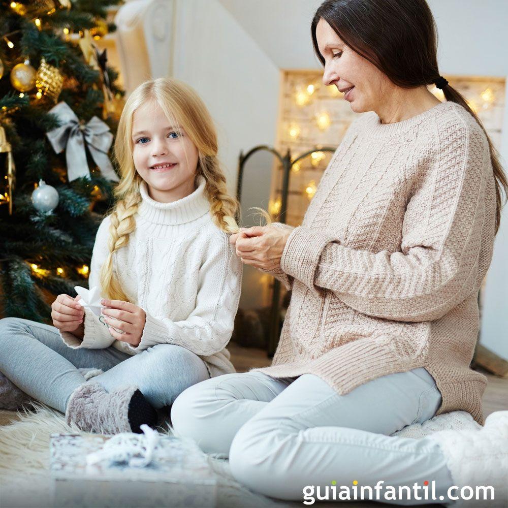 Peinados Para Ninas Para Navidad