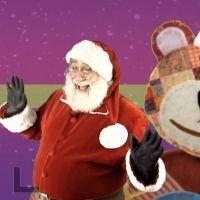 Villancico de Ande, ande, ande, bailado por Papá Noel