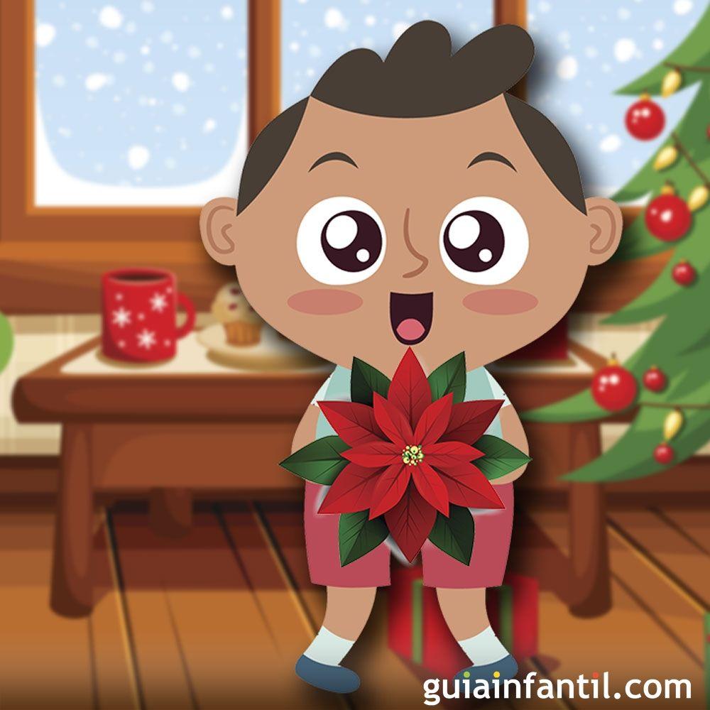 Leyenda de la flor de pascua cuento de navidad para ni os - Cuentos de navidad para ninos pequenos ...