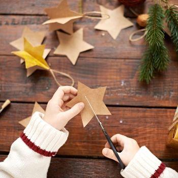 8 manualidades de Navidad para las vacaciones de los niños