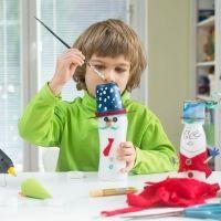 6 ideas para crear juguetes para niños con material de reciclaje