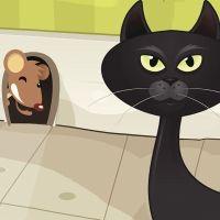 Fábula en vídeo para niños: El congreso de los ratones