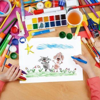 7 dibujos de animales sencillos para los niños