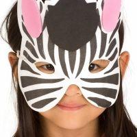 Cómo dibujar máscaras de carnaval. Manualidades para niños