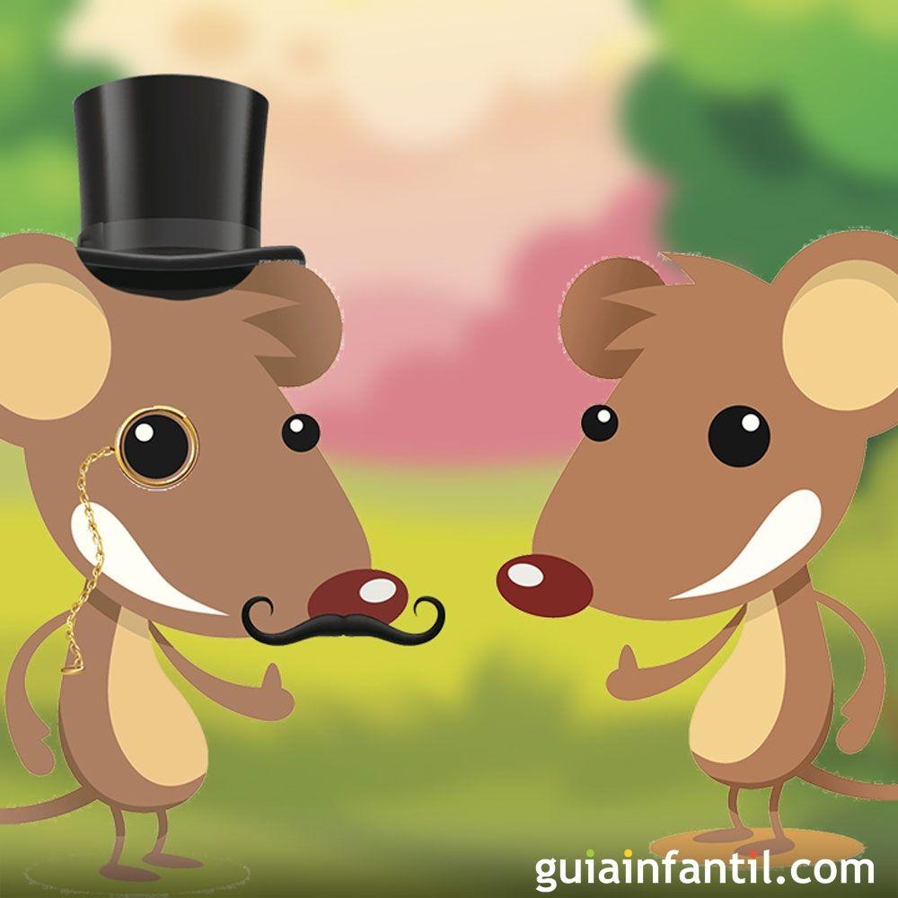 F bula de rat n de campo y rat n de ciudad para ni os - Trampas para ratones de campo ...