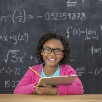 Truco para números al cuadrado terminados en cinco. Matemáticas para niños