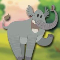El elefante Bernardo. Cuento con valores para niños