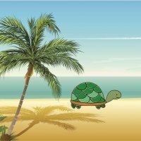Cómo dibujar una tortuga. Dibujos para niños