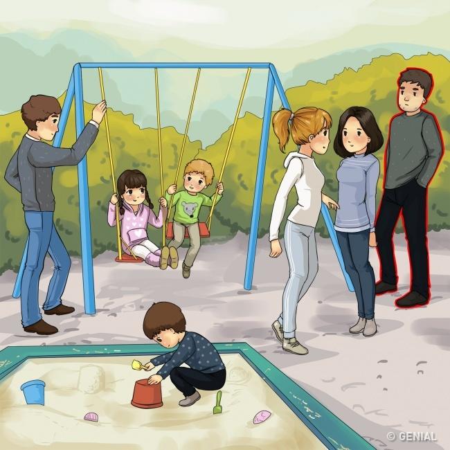 Secuestro de niños. Vueltas al parque