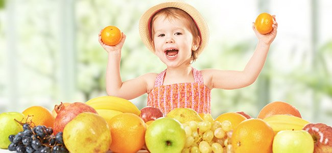 Las 5 comidas al día de un niño