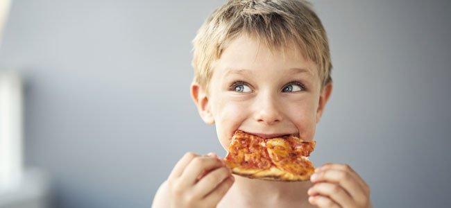 La pizza y la obesidad infantil