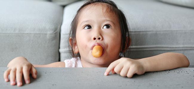 Alimentos que provocan atragantamiento en los niños