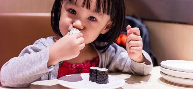 Ventajas de las algas en la dieta de los niños