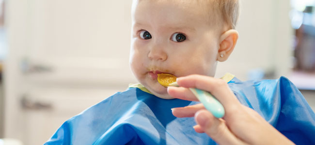 Pautas de alimentación para el bebé con bajo peso