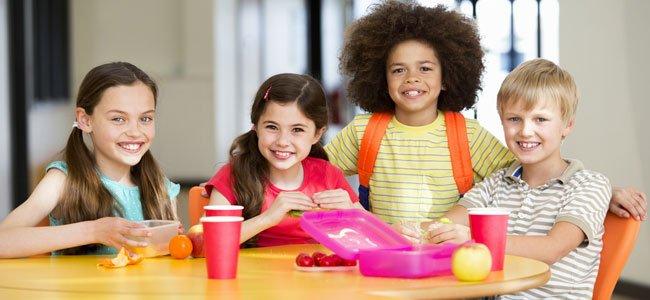 Alimentación del niño en edad escolar