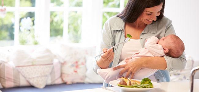 Alimentos que aportan energía en el posparto
