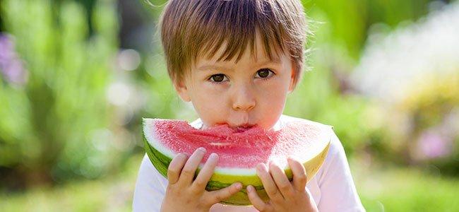 Alimentos de verano para los niños