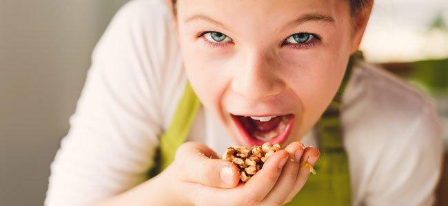 Alimentos que pueden provocar atragantamiento