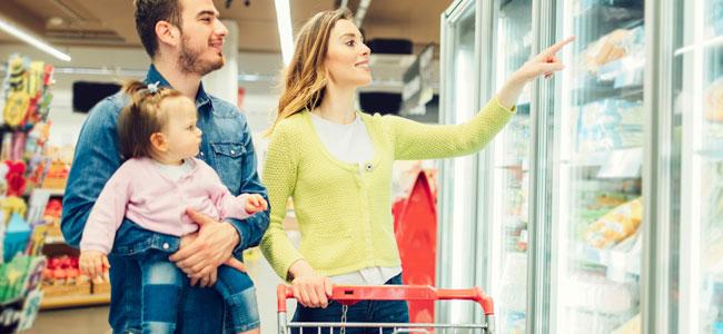 ¿Es bueno que los niños tomen alimentos congelados?