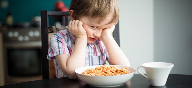 Niños que sienten asco por la comida, ¿qué hacer?